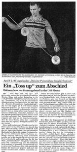 Pressebericht Jonglierfestival 1999 (BNN)