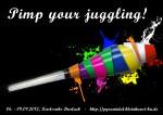 Flyer des 22. Pyramidales Jonglier- und Kleinkunstfestivals (Vorderseite)
